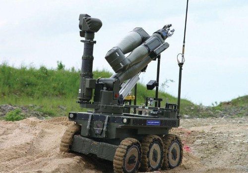 Militia's War Robots Raise Questions About Future Of Warfare