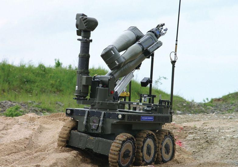 Militia's War Robots Raise Questions About Future Of Warfare