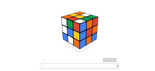 Google Celebrates 40th Anniversary Of The Rubik's Cube With Doodle Game