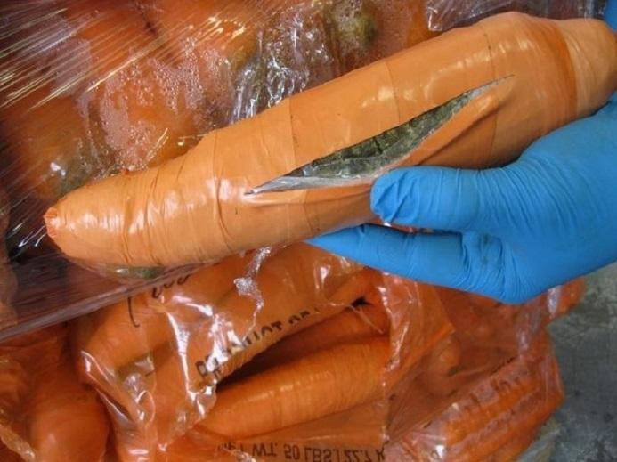 'Creative' Drug Smugglers Busted Hiding $500K Of Weed In Fake Carrots