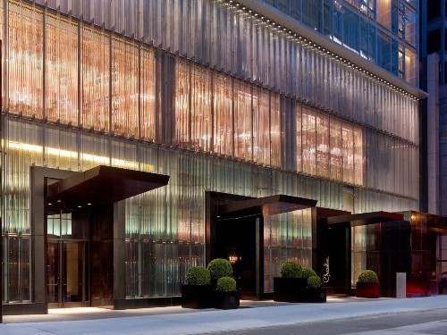 Inside The Baccarat, New York's Glitziest Hotel