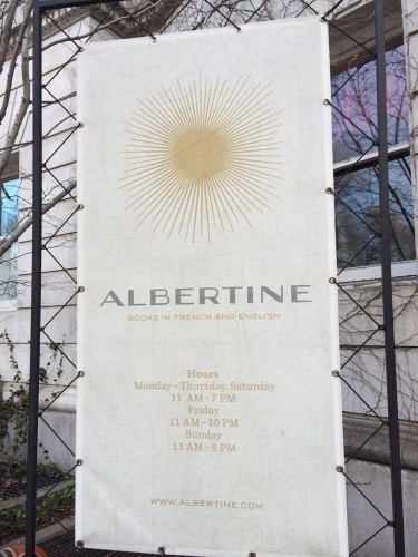 Albertine -- A Remembrance of French Books Past (and Present)