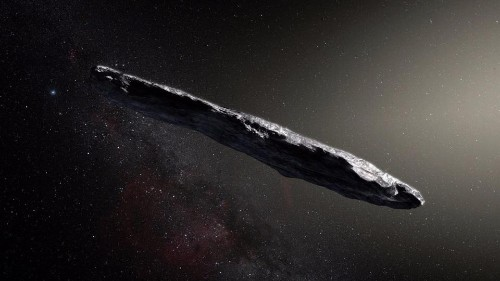 Interstellar Visitor 'Oumuamua Was Shaped By Cosmic Particles