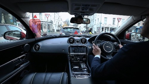 Watch: How Jaguar Smart Windscreen Will Eliminate Driver Blind Spots