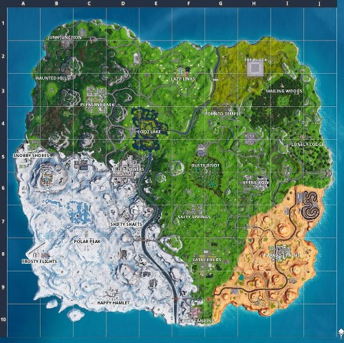 'Fortnite' Overtime Challenge: Where To Visit 10 Different Named Locations