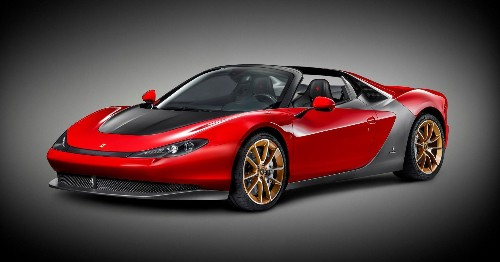 Ferrari Unveils Another Low-Volume Sports Car: The Sergio Spyder