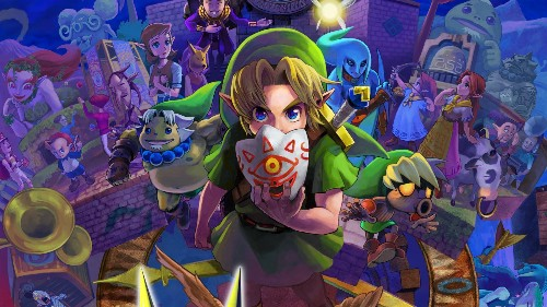 'Majora's Mask' Best-Selling Video Game In February