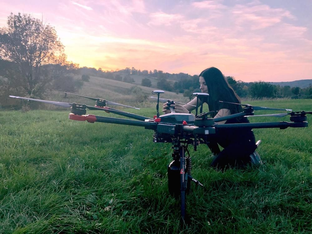Drones Can Reforest The Planet Faster Than Humans Can