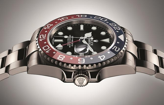 "Rolex Revives The Famed Blue & Red ""Pepsi Bezel"" GMT-Master II Watch, But For A Price"