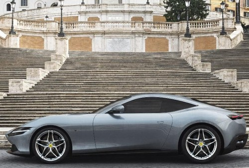Ferrari Stays Away From Electrification For New Roma Sports Car