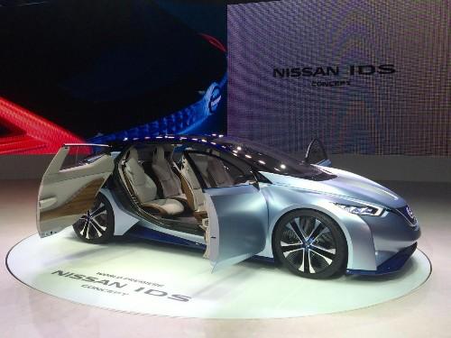 Nissan IDS Concept Showcases The Future Of Autonomous Driving
