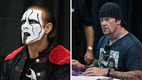 WrestleMania 35: Sting Vs. The Undertaker Talk Has Resurfaced, But Don't Expect To See It This Year