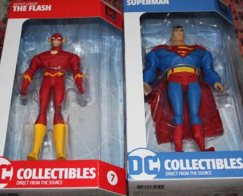 Toy Review: DC Universe Animated Justice League Superman And Flash