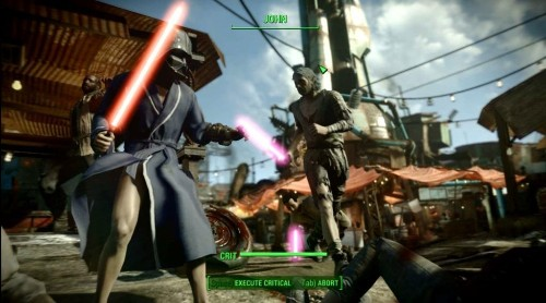 Modders Put Some 'Star Wars' Lightsabers Into 'Fallout 4'