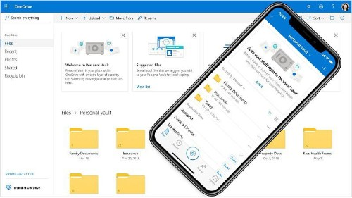 Microsoft Is Bringing A Super-Secure File Vault To OneDrive Users