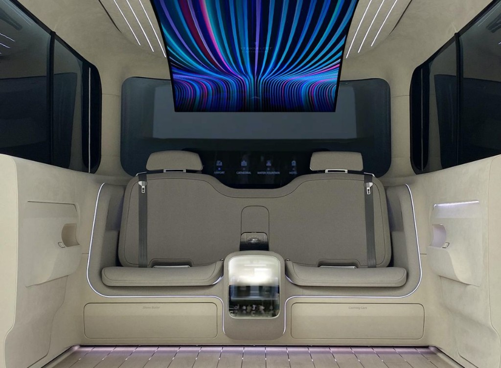 'Clothing Care' And 'Shoe Butlers'— This Is What The Car Cabin Of The Future Could Look Like