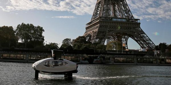Paris Is Testing Electric 'Flying Taxis' On The Seine