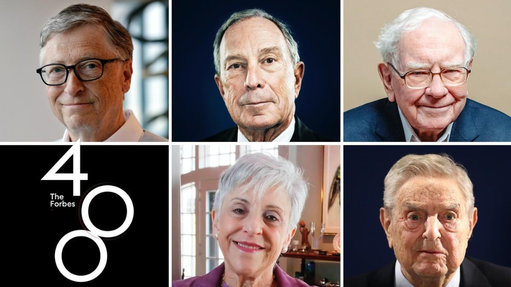 The New Forbes Philanthropy Score: How We Ranked Each Forbes 400 Billionaire Based On Their Giving
