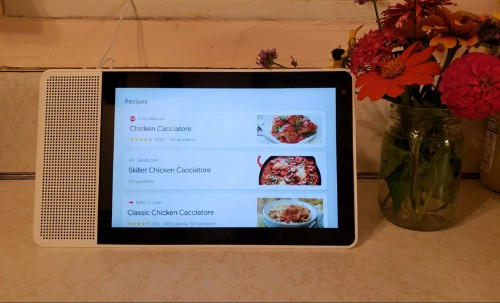 The Pros And Cons Of Cooking With Google's Assistant In Lenovo's Smart Display