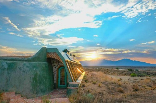 These Beautiful, Off-The-Grid Airbnb Rentals Are Made Of Reclaimed Garbage