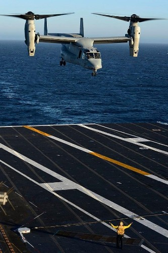V-22 Tiltrotor Could Revolutionize Naval Logistics In The Pacific