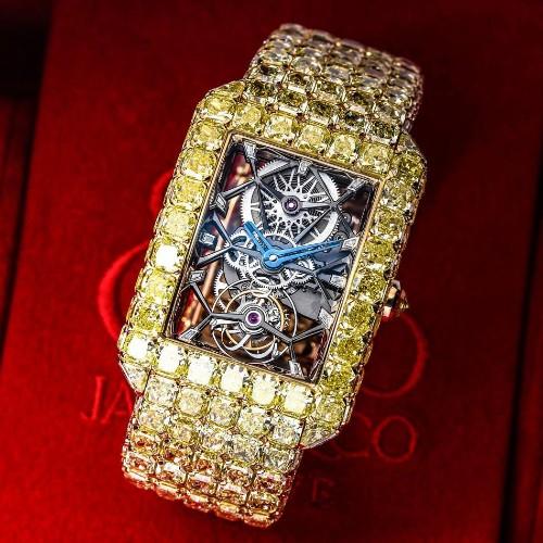 Jacob & Co. Unveils $6 Million Yellow Diamonds 'Millionnaire' Watch