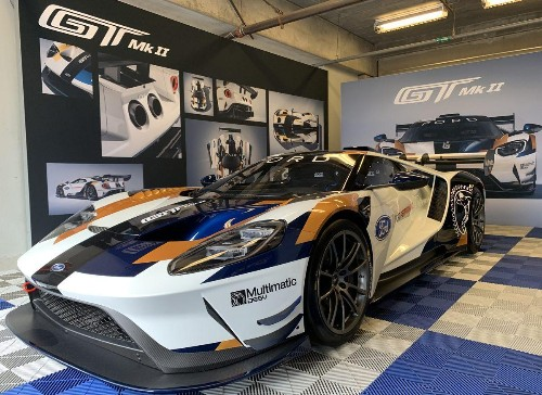 Ford GT Mark II: A Ride In Ford's Unrestrained Track Weapon