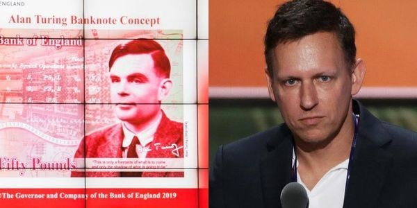 Peter Thiel Cries Treason On Google; Senate Grills Facebook Over New Crypto Libra; Celebrating Gay Computer Pioneer Alan Turing