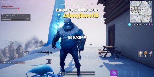 'Fortnite' Ice Storm Challenge: Where To Deal 2,000 Damage To The Ice Legion In A Single Match