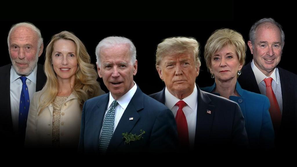 Billionaire Backers: Explore The Big Money Behind Biden & Trump
