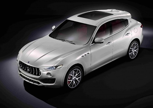 Maserati Publishes Pictures Of Its First SUV, The Levante