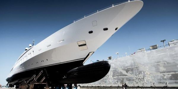 Superyacht First Look: Exclusive Photos Show Just How Massive Benetti's New 350-Foot-Long 'Gigayacht' Really Is