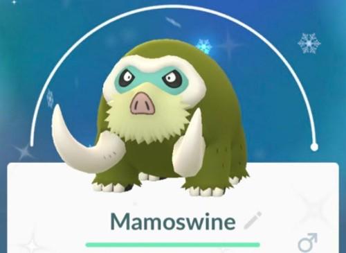 Pokémon GO Community Day: How To Get Yourself A Shiny, Powerful Mamoswine