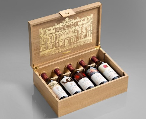 Once-In-A-Lifetime Chance To Buy Château Mouton Rothschild Versailles Celebration Cases