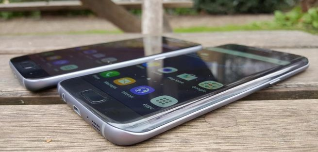 The 5.5-inch Galaxy S7 Edge gets my vote due to its more distinguished design, longer lasting battery and incredibly compact form factor that is little bigger than the 5.1-inch Galaxy S7. Image credit: Gordon Kelly