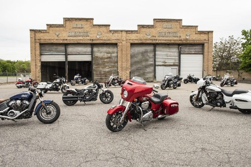 2019 Indian Motorcycle Lineup Roars To Dealerships