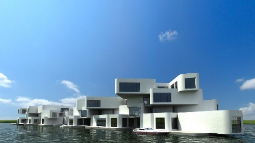 Architects Worldwide Invent Groundbreaking Floating And Flood-Resistant Solutions To Climate Change