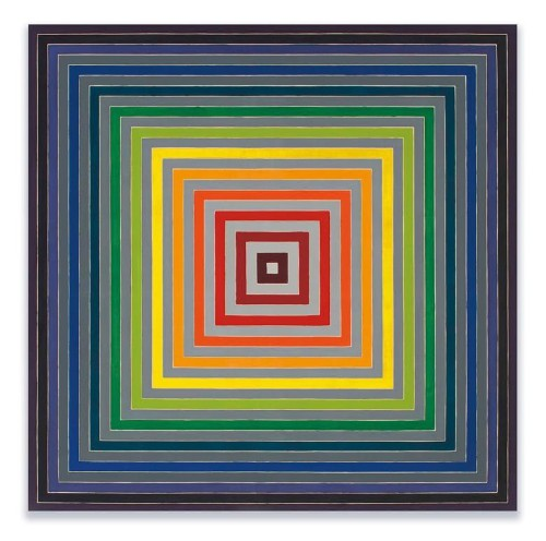 Frank Stella, Hockney, Miró, Among Paintings Of Stella's Personal Collection To Fetch $27.4 Million