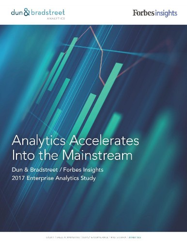 Data Analytics Is No Longer A Nice Option -- It's The Core Of The Enterprise
