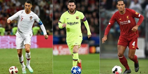The 2019 Ballon D'Or Shortlist: Cristiano Ronaldo, Messi, Van Dijk And 27 Others