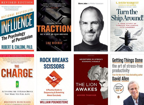 Eight Books That Influenced My Business In 2015