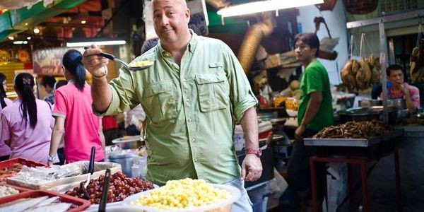 Andrew Zimmern, Unpacked: Why The Adventurous Foodie Is Game For Anything Except A Burger In Beijing