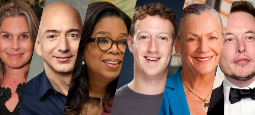 Meet The Richest People In America