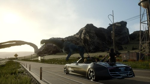 New 'Final Fantasy 15' Footage Shows Off The Size Of The Game's World