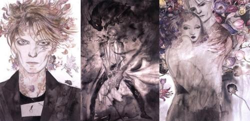 That Time When Yoshitaka Amano Painted David Bowie