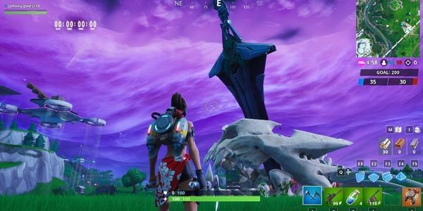 'Fortnite' Just Had An Epic Monster Versus Mecha Fight In Its Biggest Event To Date