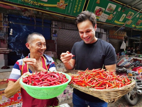 "How Does ""The Food Ranger"" Travel The World Eating For A Living?"