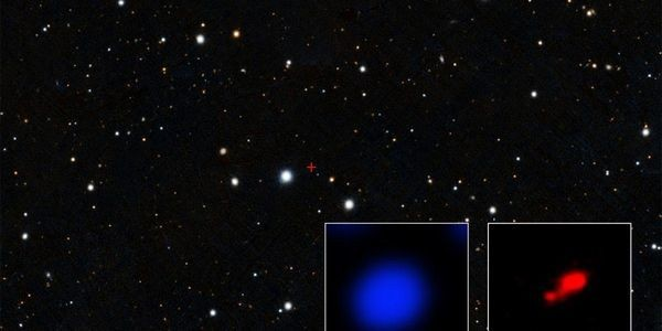 Astronomers Find A 'Cloaked' Black Hole 500 Million Years Before Any Other