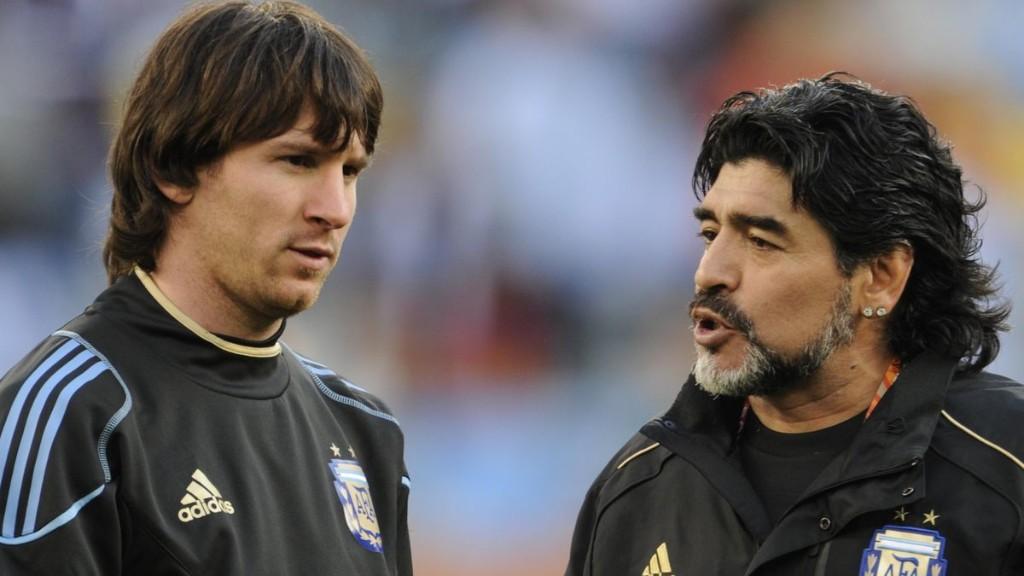 Diego Maradona Speaks On FC Barcelona-Napoli Plus Comparing 'Alien' Father And 'Terrestrial' Messi