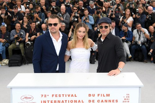 Brad Pitt Spotted At 'Once Upon A Time In Hollywood' Premiere In Cannes Wearing Breitling Watch